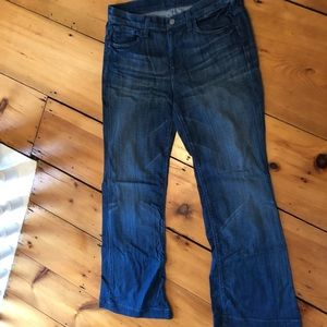 7 For All Mankind super flare size 30